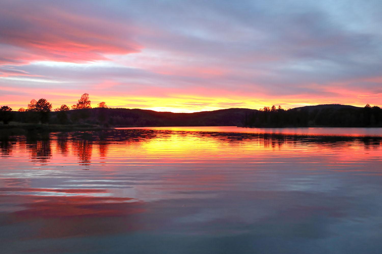 Sonnenuntergang_Oslo