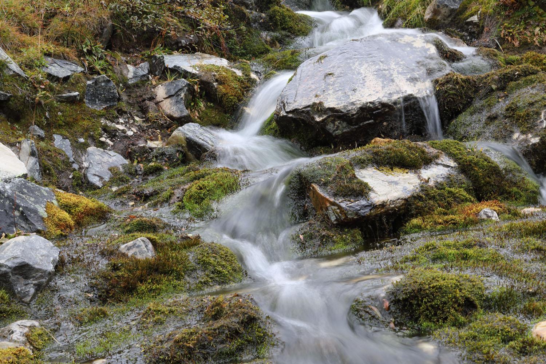 Rondane Nationalpark-Wasserfall