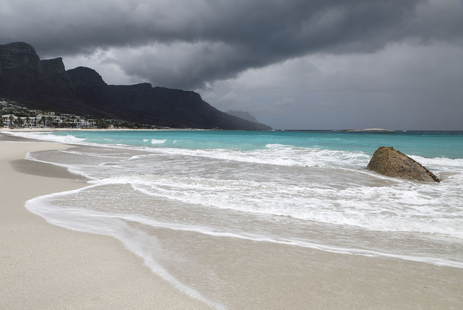 Strand in Camps Bay_Kapstadt
