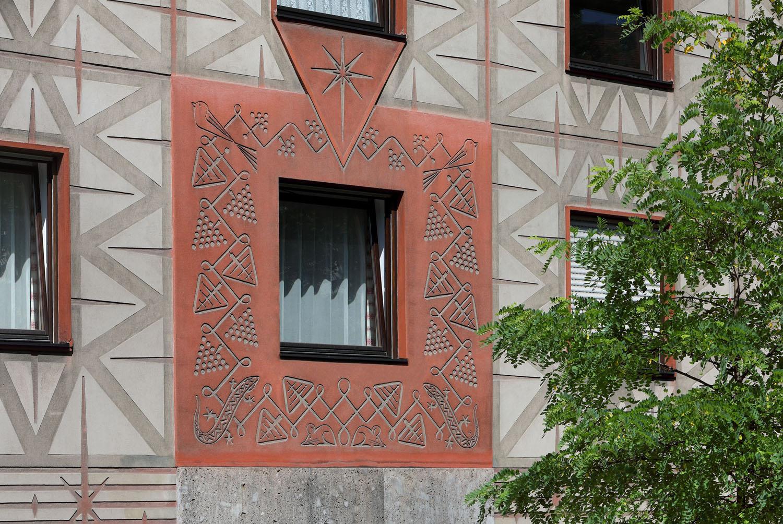 Detail-Gebaeude-München