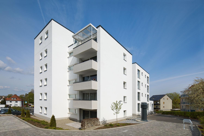 Stürzende Linien_Apartmenthaus Fulda
